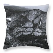 Glacier Point 1 Throw Pillow