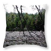 Glacier Rock 1 Throw Pillow
