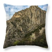 Glacier Swirl - Matka, Macedonia Throw Pillow