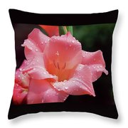 Glad All Over Throw Pillow