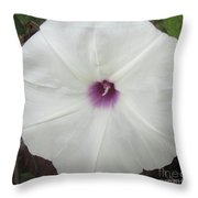 Glad Morning Vines Throw Pillow