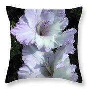 Glad Purple Perfection Throw Pillow