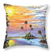 Glades Inspiration Throw Pillow