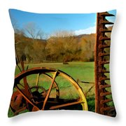 Gladie Cickle Throw Pillow