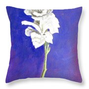 Gladiolus 1 Throw Pillow