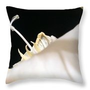 Glady Macro Throw Pillow