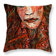 Glamorous Throw Pillow