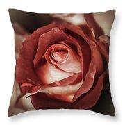 Glamorous Rose Throw Pillow