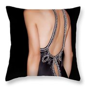 Glamour Throw Pillow