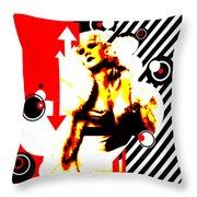 Glamour Gal Throw Pillow