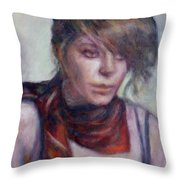 Modern Glamour  - Sale On Original Painting Throw Pillow