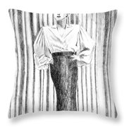 Glamour In The 30s Throw Pillow