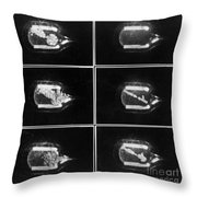 Glasers First Recorded Tracks, 1956 Throw Pillow