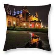 Glasgow Kelvingrove Art Gallery Throw Pillow