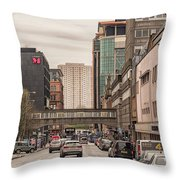 Glasgow Renfield Street Throw Pillow