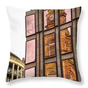 Glasgow St Georges Tron Parish Church Throw Pillow