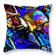 Glass Abstract 11 Throw Pillow
