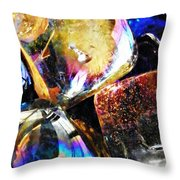 Glass Abstract 114 Throw Pillow