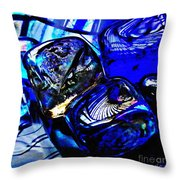 Glass Abstract 14 Throw Pillow