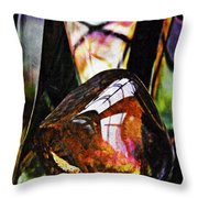 Glass Abstract 315 Throw Pillow