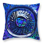 Glass Abstract 480 Throw Pillow