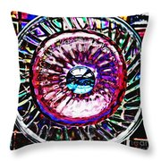 Glass Abstract 516 Throw Pillow