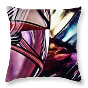 Glass Abstract 523 Throw Pillow