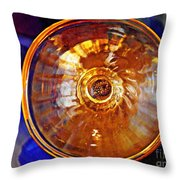 Glass Abstract 577 Throw Pillow