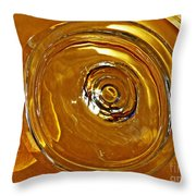Glass Abstract 578 Throw Pillow