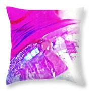 Glass Abstract 602 Throw Pillow