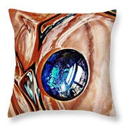 Glass Abstract 676 Throw Pillow