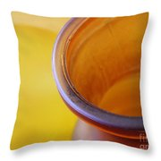 Glass Abstract 718 Throw Pillow