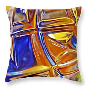 Glass Abstract 768 Throw Pillow