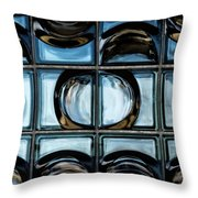 Glass Blocks Throw Pillow