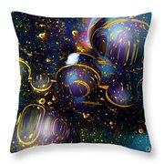 Glass Bubbles 2 Throw Pillow