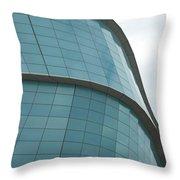 Glass Facade Throw Pillow