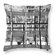 Glass Holders Throw Pillow