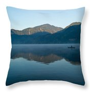 Glass Lake Atitlan Guatemala 1 Throw Pillow