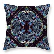 Glass Pattern Throw Pillow