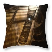 Glass Shadow Throw Pillow