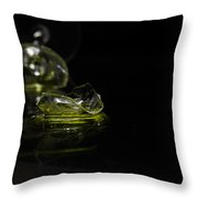 Glass Shard Throw Pillow