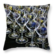 Glass Soldiers Throw Pillow