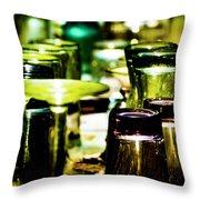Glass Table Throw Pillow