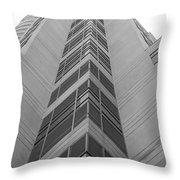 Glass Tower Throw Pillow