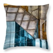 Glassed Throw Pillow