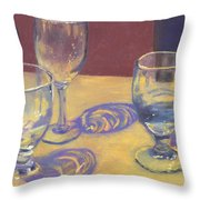 Glasslights Throw Pillow