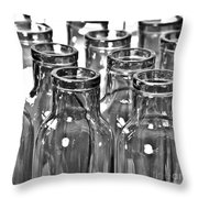 Glassware Throw Pillow