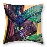 Glassworks 2 Throw Pillow
