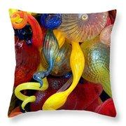 Glassworks Of The Milwaukee Art Museum Throw Pillow