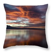 Glassy Tahoe Throw Pillow